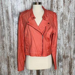 a.n.a A New Approach Faux Leather Biker Jacket